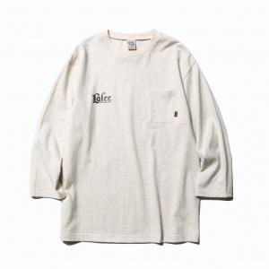 3/4 Sleeve set in pocket t-shirt
