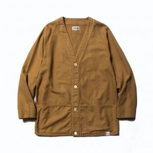 Over size cardigan shirt