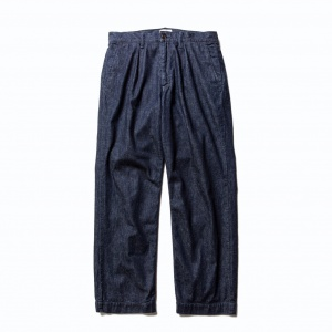 More yarn denim trousers