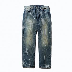 Used vintage reproduct straight denim pants