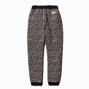 Allover pattern sweat pants