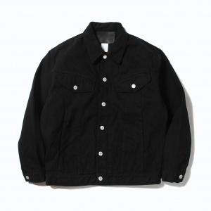 3rd type black denim jacket