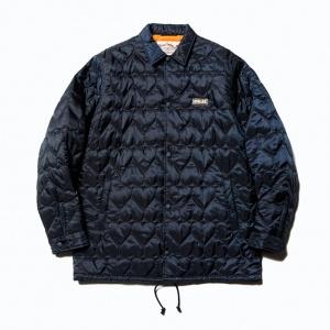 Heart quilting nylon coach jacket