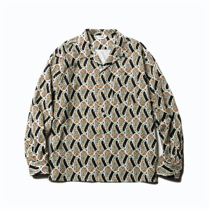 Allover paisley pattern L/S shirt