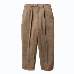 Tweed cropped slacks