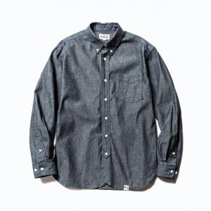 Chambray B,D L/S shirt