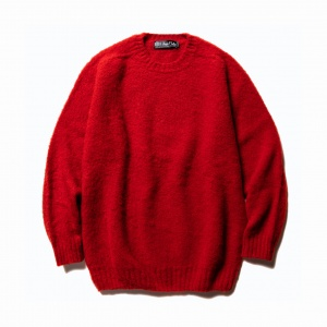 ×Ce forsyth Shaggy wool knit sweater