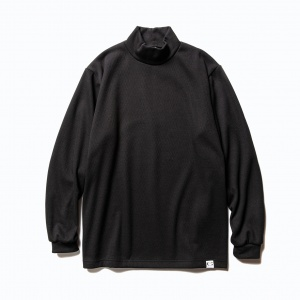 High neck L/S stretch thermal