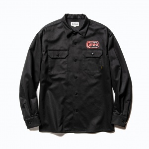 Cotton twill L/S wappen work shirt