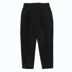 Nylon cropped slacks