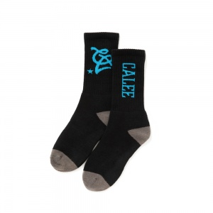 Multi logo socks