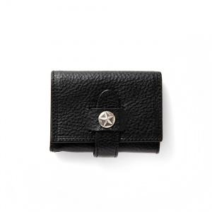 Silver star concho leather multi case