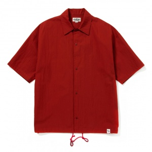 C/N Plain S/S shirt jacket