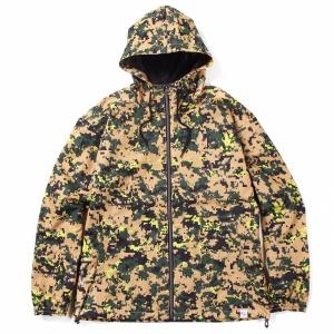C/N digital camo hooded jacket