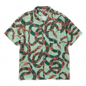 Allover snake pattern S/S shirt