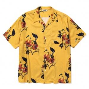 Allover flower pattern S/S shirt