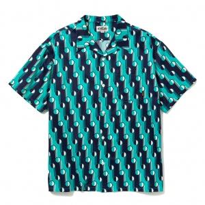 Geometric dot pattern S/S shirt