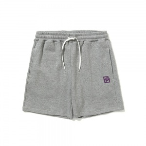 Logo sweat short pants