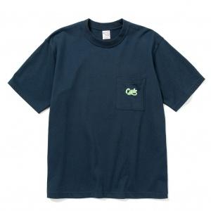 Drop shoulder pocket S/S t-shirt