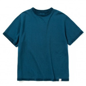 Flat pile reversible t-shirt
