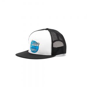 CALEE logo print mesh cap