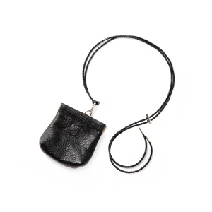 CAL Logo embossing leather multi pouch