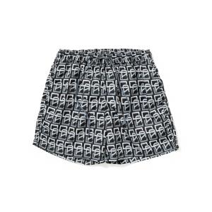 Allover monogram pattern 2way short pants