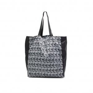 Allover monogram pattern tote bag <Large>