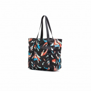 Feather pattern tote bag <Regular>