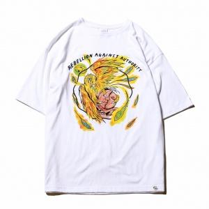"× ""HASKEY"" ""TOSHIKI"" joint work t-shirt"