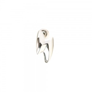 Thunderbolt silver pierce