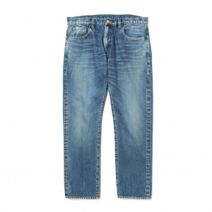 Vintage reproduct tapered used denim pants
