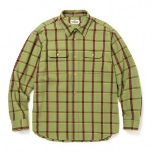 6/6 Twill L/S check shirt