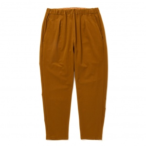 Tricot knit 4way stretch easy trousers