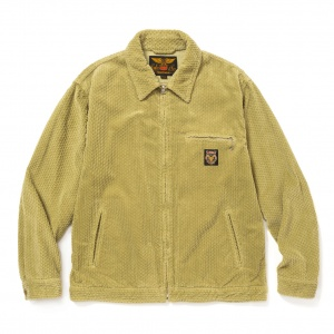 Dobby corduroy work jacket