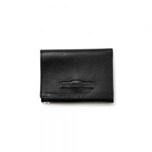 Calee logo embossing mini wallet
