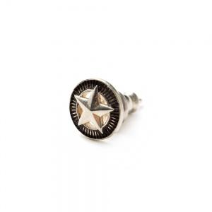 Silver star concho pierce