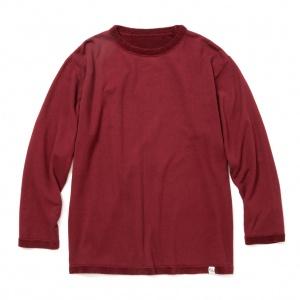 9 Length sleeve flat pile reversible t-shirt