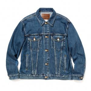 Vintage reproduct  3rd type used denim jacket
