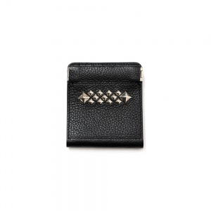 Studs leather multi wallet