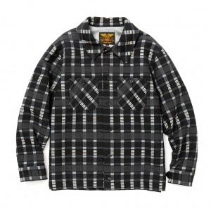 Dobby check cpo shirt jacket