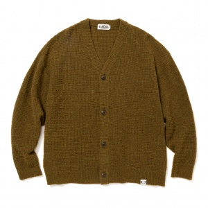 7 Gauge boucle knit cardigan