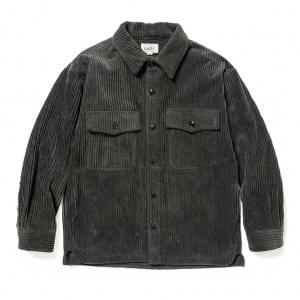 Corduroy over silhouette shirt jacket